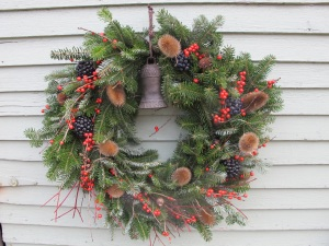 My finished wreath